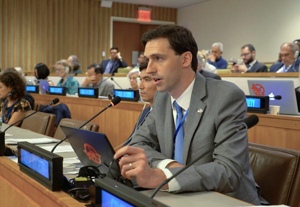 Graceland Alumnus Matthew Bolton's Push for Peace Leads to Nobel Peace Prize