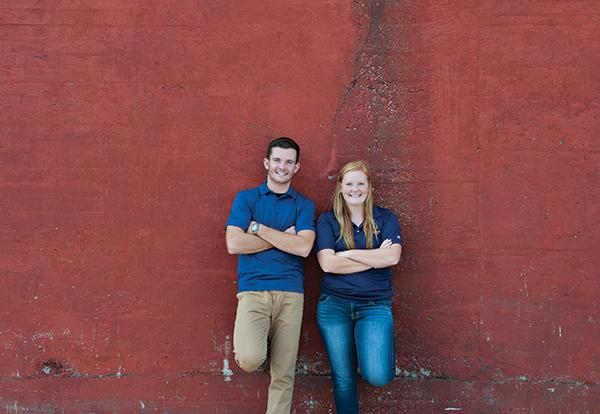 Graceland criminal justice students Zacary Stetzel '18 and Kinzey Nicklaus '19