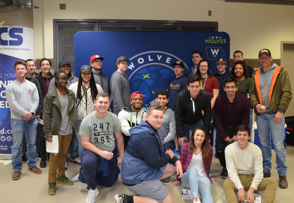 Graceland's sport marketing class
