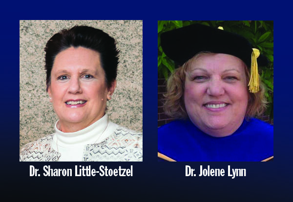 Graceland School of Nursing's Drs. Sharon Little-Stoetzel and Jolene Lynn