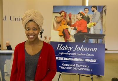 Graceland University Congratulates Haley Johnson on Her National Win of the Irene Ryan Scholarship