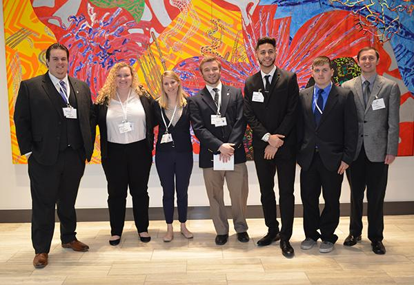 Graceland University Enactus team competes in the Principal Voice of the Young Consumer Business Challenge 2018