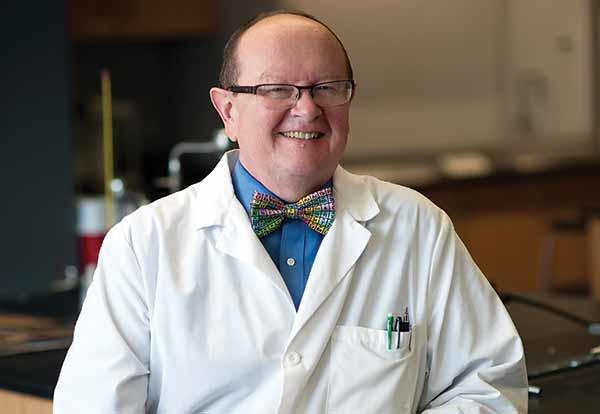Professor of Chemistry, Dr. Dan Pratt