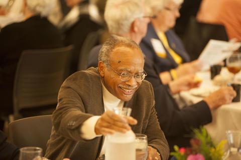 Smiling Male Alumnist