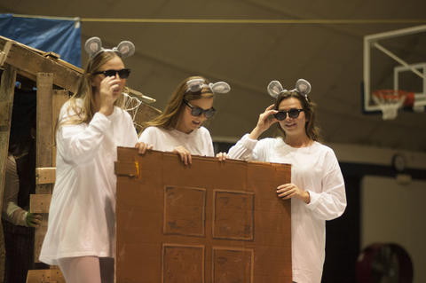 Three blind mice at Airband