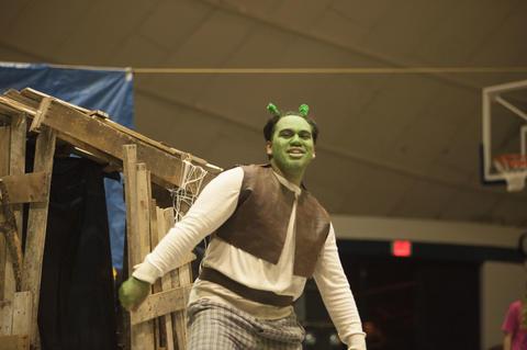 Shrek at Airband