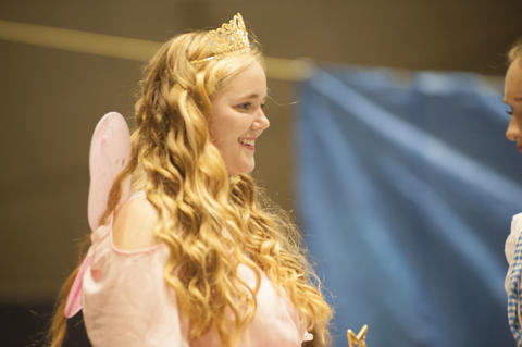Glinda the good Witch smiling