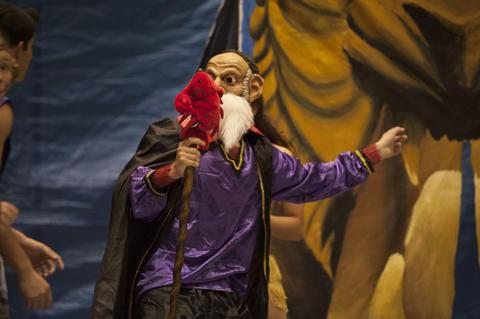 Jafar on stage