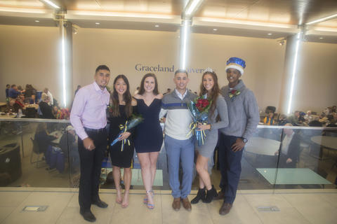 2018 Homecoming court Candidates