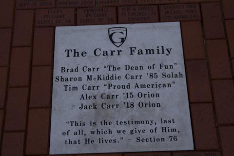 Carr Family tile