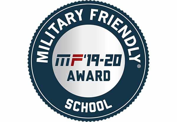 Badge - Military Friendly Schools Designation 2019-20