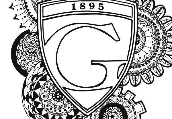 Graceland Coloring Page