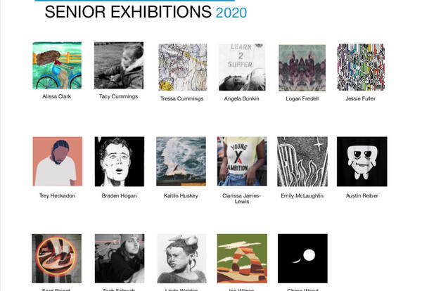 Graceland visual art and graphic design graduates share their 2020 senior exhibitions in a digital catalogue.