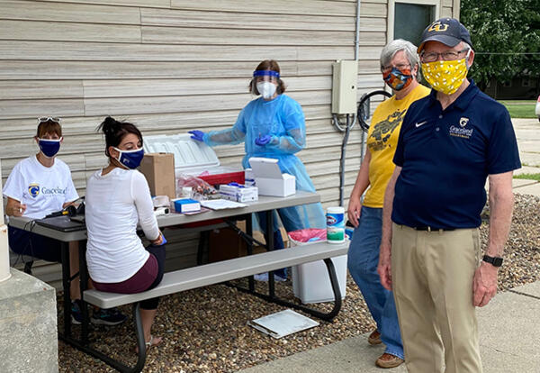 Graceland University Partners with Corteva and CHCSI for COVID-19 Testing