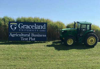 Graceland University Test Plot a Valuable Learning Opportunity for Students