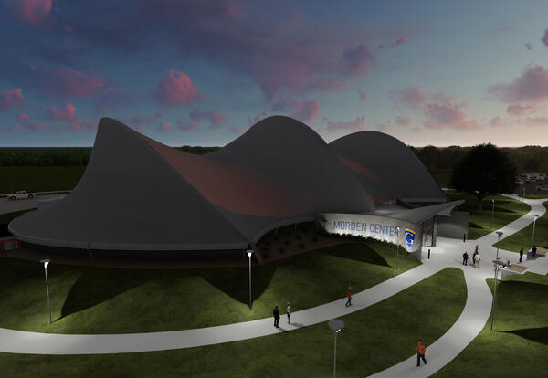 Rendering of Graceland University Morden Center gymnasium