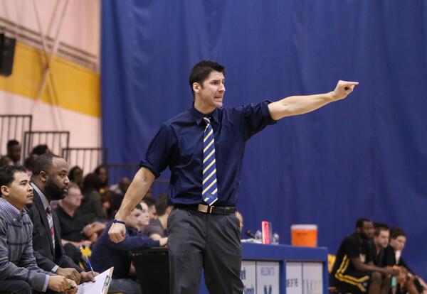 Graceland University Basketball Coach Taylor Langley