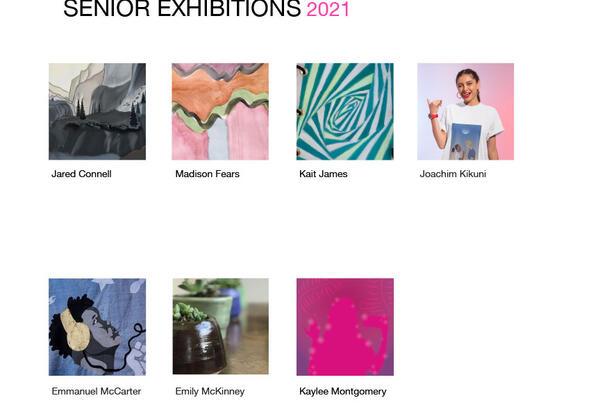 Senior Exhibitions 2021