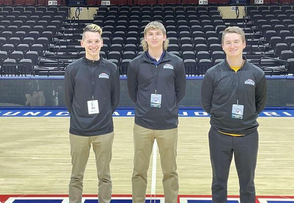 Graceland Students Serve NAIA Men's Basketball National Championship in Kansas City