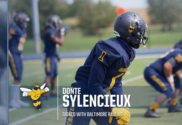 Standout Receiver Sylencieux Signs with NFL's Ravens