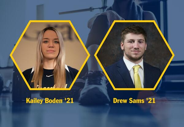Sams and Boden Named MSNHP Graduate Assistants