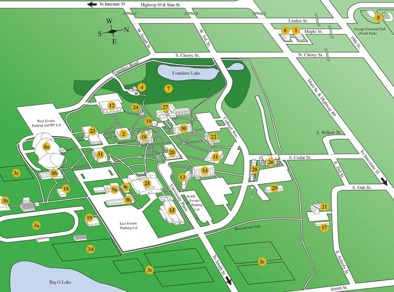 Lamoni Campus Map