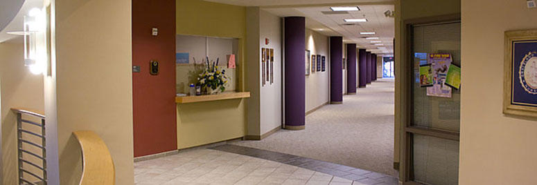 Hallway at Independence campus