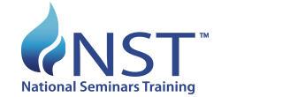 NST: National Seminars Training Logo