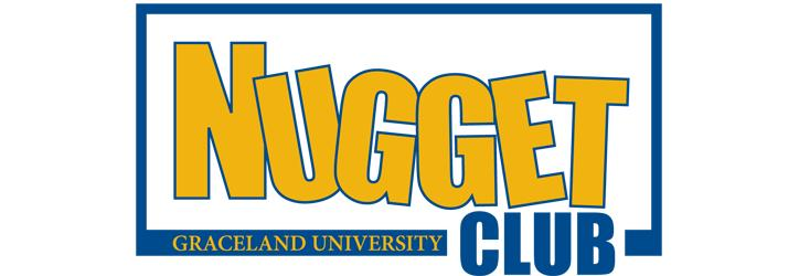 Graceland University Nugget Club banner
