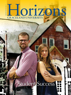 2015 Fall Graceland University Horizons magazine cover: Student Success
