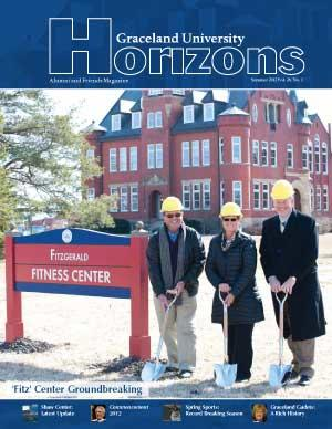 2012 Summer Graceland University Horizons magazine cover: Construction Updates