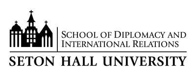 School of Diplomacy and International Relations Seton Hall University with Logo