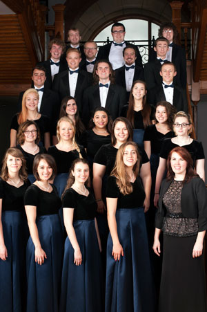 Chamber singers in Higdon
