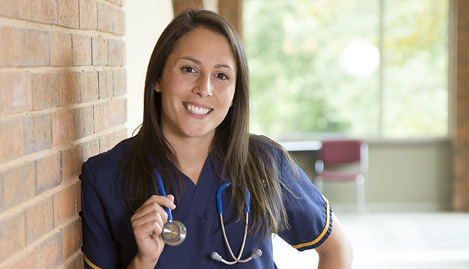Independence campus nursing student.