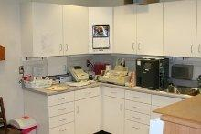 community health supply room
