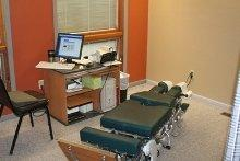 Chiropractic chair