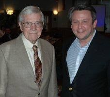 Edmund J. Gleazer Jr. and Ken McClain
