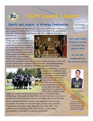 Youth Launch Leaders Newsletter