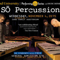 Graceland University Welcomes So Percussion