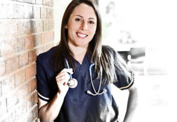 Graceland School of Nursing student Veronica Bourdon
