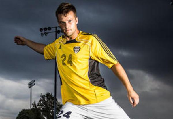 Graceland student and athlete Kurt Van Kuiken `14