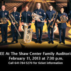USAF Brass in Blue to Perform at GU