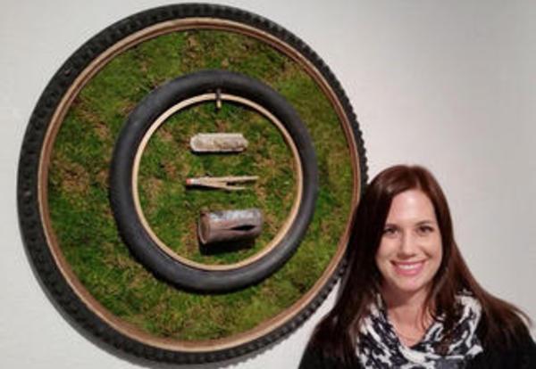 Graceland University Professor of Art Julia Franklin is Making Art and Making News
