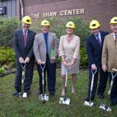 Shaw Center Groundbreaking