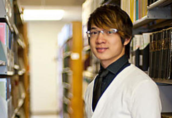 Graceland international student Junbin Guo `13