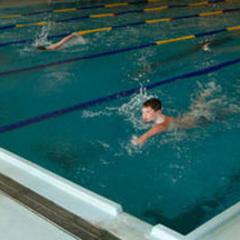 Local Youth Enjoy GU's Pool