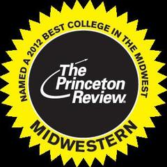 Named Top in the Princeton Review