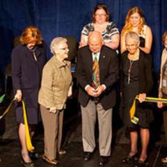 Shaw Center Dedication at Homecoming