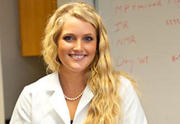 Graceland biology major Sophia Ringsdorf `13
