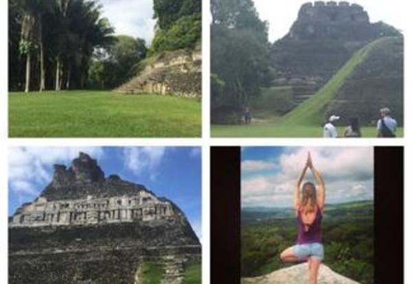 Xunatunich Ruins: GU Winter Term - Belize
